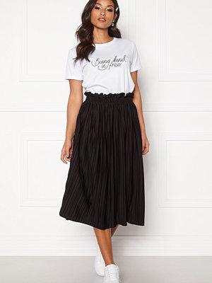 Bubbleroom Anna midi pleated skirt