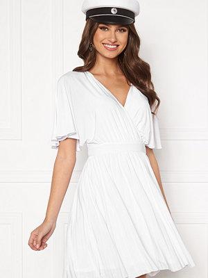 Goddiva Flutter Sleeve Dress