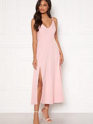 Sandra Willer X Bubbleroom Slit dress