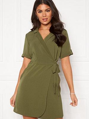 Object Mae S/S Wrap dress