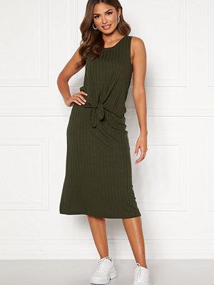 Happy Holly Mila rib skirt Khaki green