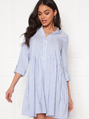 Only Ditte Fold Up 3/4 Stripe Dress
