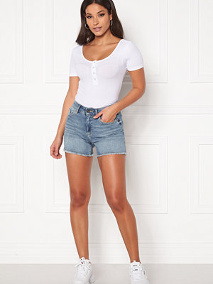 Shorts & kortbyxor - Only Blush Mid Raw Shorts