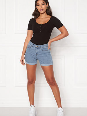 Shorts & kortbyxor - Vero Moda Hot Seven NW Dnm Fold Shorts Mix