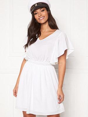 Vero Moda Sasha SS Frill Dress Bright White