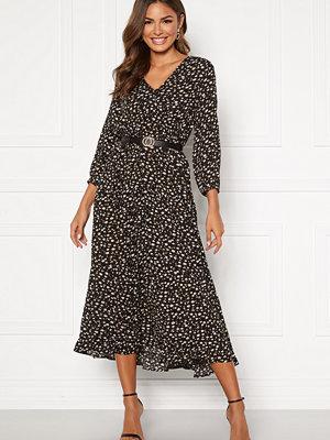 Happy Holly Bianka maxi  dress Black / Patterned