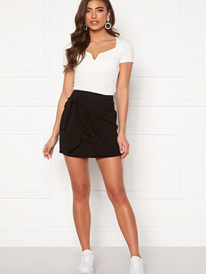 Kjolar - Bubbleroom Pacey front tie skirt