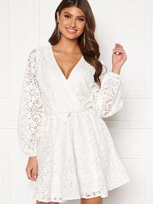 Bubbleroom Lykke lace dress White