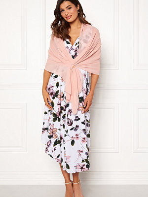 Chiara Forthi Chiffon Shawl Light pink