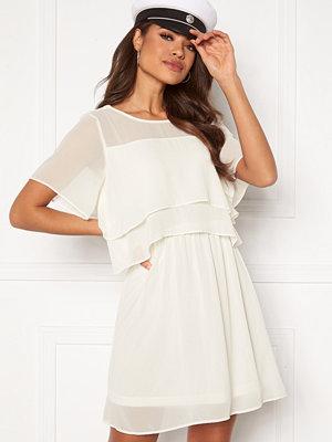 Vero Moda Vida SS Short Dress Snow White