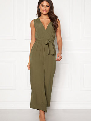 Object Zoeella Bay Jumpsuit Burnt Olive