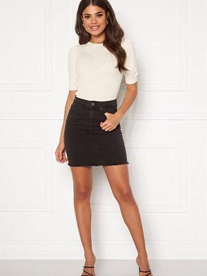 Kjolar - Pieces Aia MW Denim Skirt