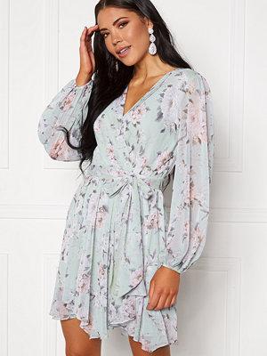 Forever New Mariana Wrap Hanky Hem Dress