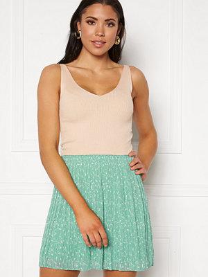 Jacqueline de Yong Nanna S/L Top Knit Tapioca