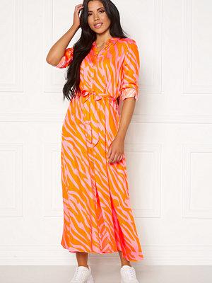 Object Elonora L/S Long Dress