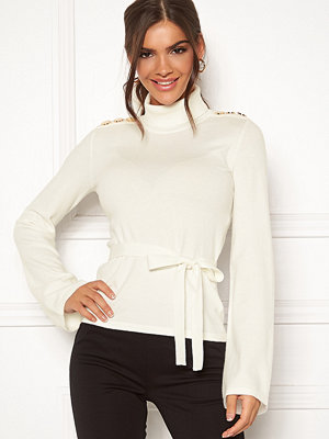 Tröjor - Chiara Forthi Gaby fine knitted tie sweater