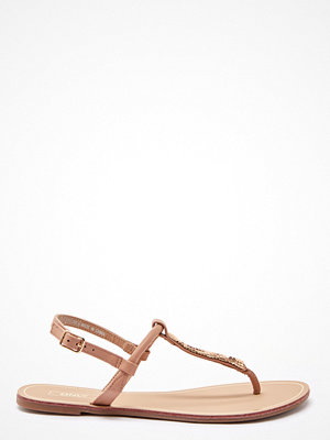 Only Margit PU Glitter Split Toe Sandal