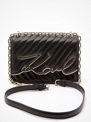 Karl Lagerfeld Signature Stitch S Bag