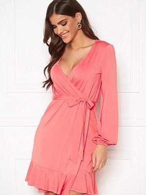 Chiara Forthi Charlie puff sleeve flounce dress