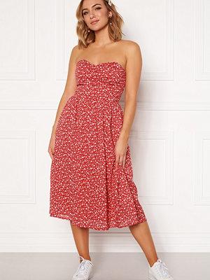 Tommy Jeans Floral Bandeau Dress
