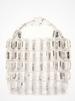 Pieces Milka Pearl Bag Bright White