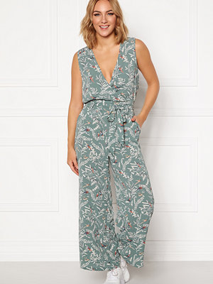 Only Nova Lux S/L Wrap Jumpsuit AOP
