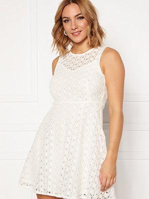 Vero Moda Allie Lace S/L Short Dress Snow White