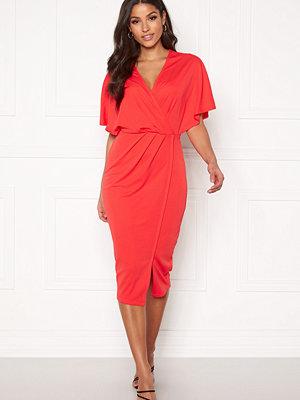 Bubbleroom Selena dress Coral red