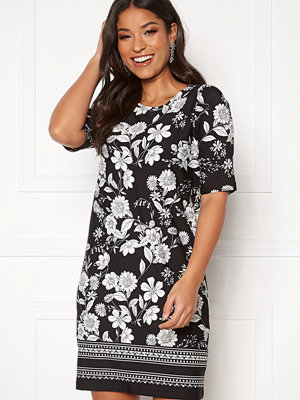 Happy Holly Blenda dress Black / Patterned