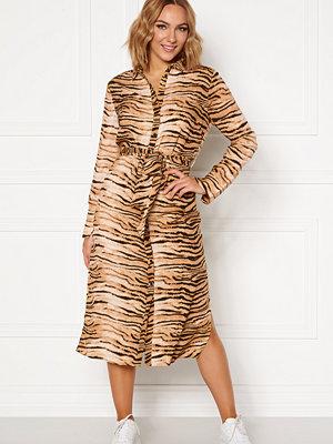Rut & Circle Sofi Shirt Dress Tiger Print