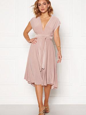 Goddiva Multi Tie Midi Dress