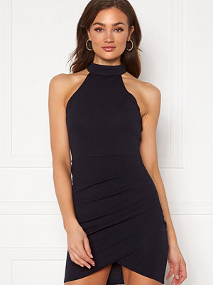 Ax Paris High Neck Rouched Dress