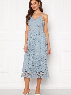 Y.a.s Luie Strap Midi Dress Dusty Blue