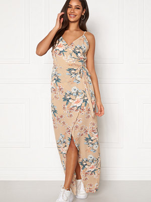 Girl In Mind Dress Beige Floral