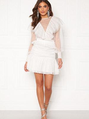 Alexandra Nilsson X Bubbleroom Tulle frill skirt Offwhite