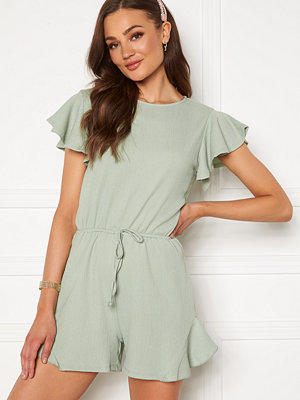 Bubbleroom Sylvia playsuit Light green