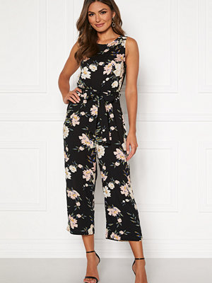 Jumpsuits & playsuits - Happy Holly Mollie jumpsuit Black / Patterned