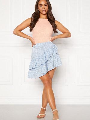 Only Addie Short Skirt Cashmere Blue