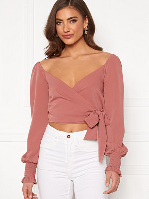 Bubbleroom Devin wrap top