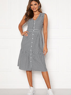 Happy Holly Adelyn dress Dark blue / White