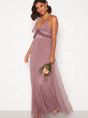 Moments New York Flora Frill gown Dusty lilac