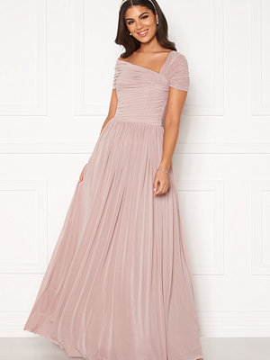 Nicole Falciani X Bubbleroom Nicole Falciani Mesh Gown Pink