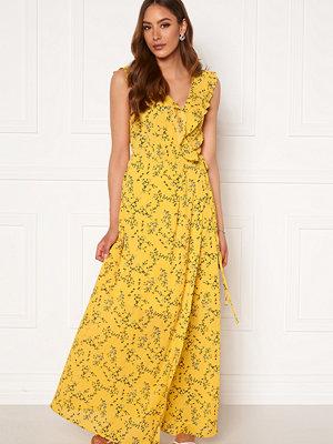 Rut & Circle Serina Maxi Dress Yellow Flower