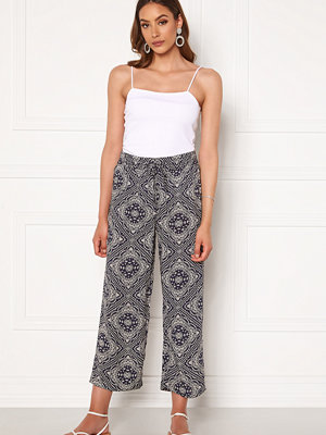 Jacqueline de Yong mönstrade byxor Starr Life Wide Pant