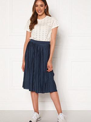 Vila Pliss Midi Skirt