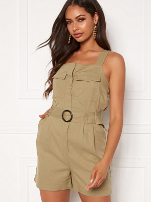 Only Noreen-Bibs Playsuit Martini Olive