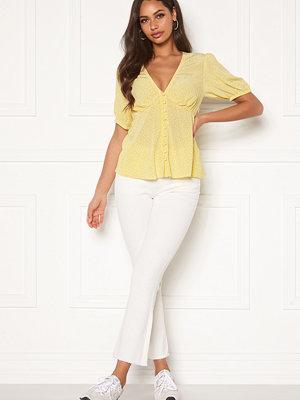 Object vita byxor Marina Belle Twill Jeans