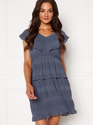 Y.a.s Sydney Sl Midi Dress Dark Sapphire