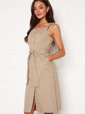 Vero Moda Julia Cotton Dress Silver Mink