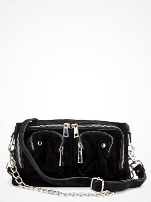 NuNoo Stine Chain Suede Bag